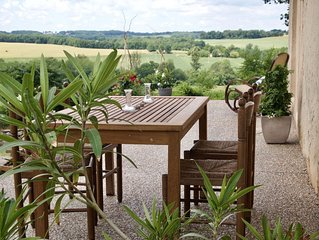 Spacious home with pool and panoramic views
