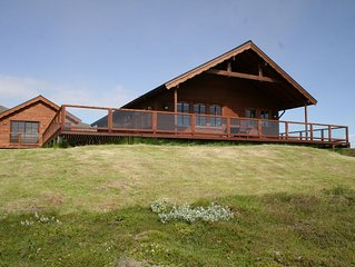 Luxury Cottage in South Iceland-Panoramic views-Golden Circle-Northern Lights