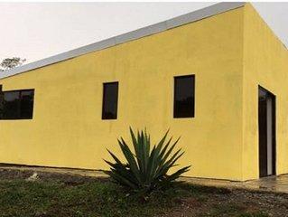 At Juan Manuel Eco-wellness, gorgeous Casita, 2 Bedroom, 1 Bath