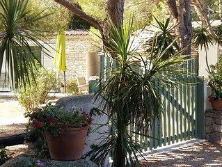 Havre de paix tout confort avec terrasse et jardin