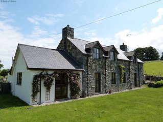 Built in traditional Welsh stone and slate, Berthlwyd offers spacious and comfor