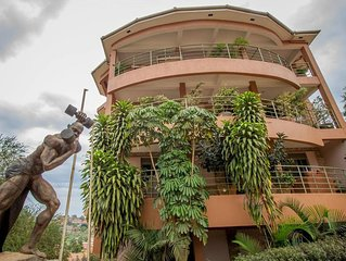 This B&b a great choice for a group of backpackers visiting Kampala.