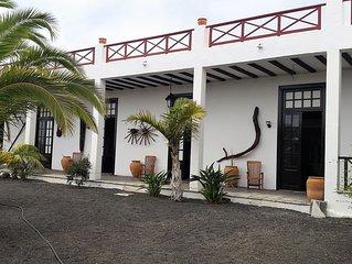 Finca Fajardo - Tinache con bodega en el centro de Lanzarote. Wifi gratuita.
