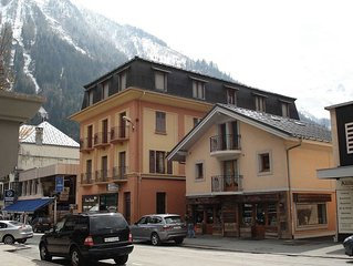 60 sqm Duplex 2 Bedroom Apartment In The Heart Of Chamonix.