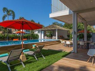 Luxury villa Bacardi in a full service resort with beachclub