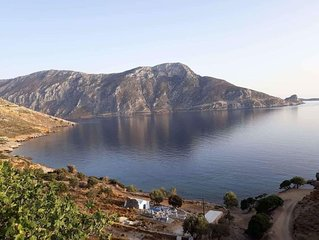 House for 5 in Skalia, kalymnos