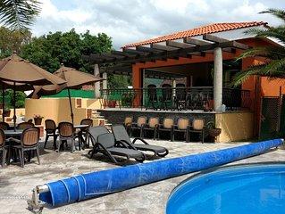 Casa en coto Hamacas/House in San Antonio Tlayacapan (Hamacas Country Villas)