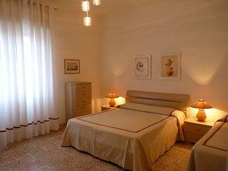 ampio e luminoso appartamento vicino al mare