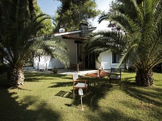 Spacious villa for 5 people in Sani