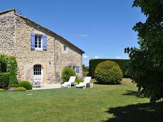 Entre Provence et Ardeche, gite du mas chazel proche d'uzes et Nimes