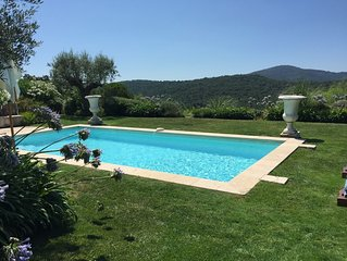 Charming and luxury Villa in the private saint-Tropez /Gassin Golf Country Club