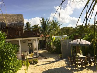 Live you dream on the island of Dhigurah, enjoying the amenities offered