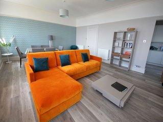 Sir Arthur Conan Doyle Apartment (No 6) 1, Elliot Terrace - stunning sea views o