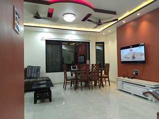 Duplex 2 bedroom spacious and modern apartment in an independent villa