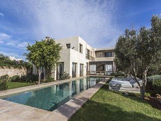 Maison avec piscine chauffée. Essaouira (Ghazoua)