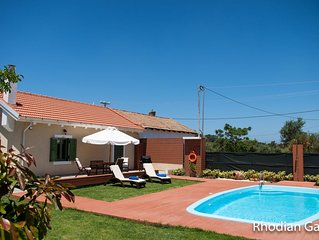 Rhodian Gaea House with private pool