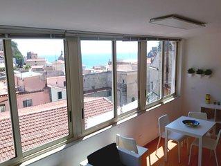 La maison de mémé con veranda panoramica