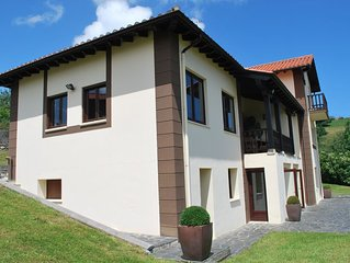 Luxury Villa Only 1km From The Beach And Ribadesella Centre