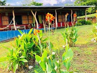 Hermosa casa guajira con espectacular vista  al pacifico y ala jungla