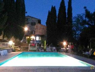 appartamento la SERVITU' 4/6 posti ,piscina,parco spa