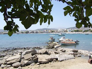 Luxury Beachfront Apartment on Haraki Bay - Rhodes' best kept secret !