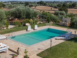 Authentic trullo- private pool- privacy