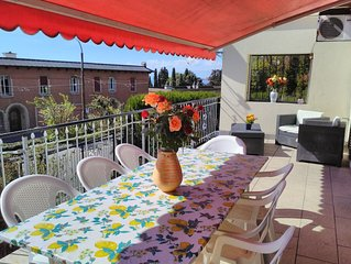 Montreux appartamento per famiglie e gruppi a 100mt dal lago di Ginevra