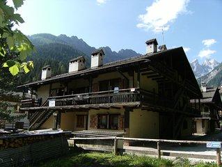 Chalet romantico 6C nel cuore delle Dolomiti