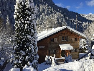 Idyllic chalet with hot tub, close to the village - Autumn short breaks