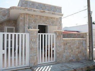 Casa a 30 metri dalla spiaggia di sabbia, Torre Lapillo beach