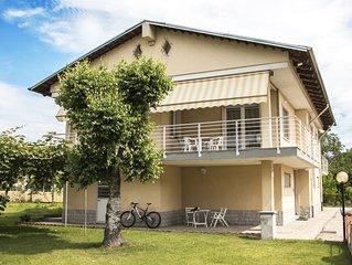 Villa Gemma , la casa, nelle Langhe, delle tue Vacanze con Piscina e Biciclette.