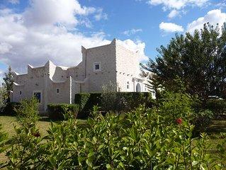 Grande villa sur 5000 m2, piscine - Proche golf/mer, Essaouira -Maroc.