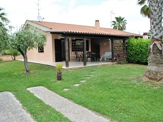 Villa indipendente between Terracina and Sperlonga, 400 mt from beach