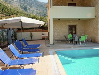 Luxurious Villa in Bali Crete with Private Pool