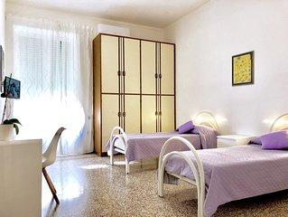 CAMERA DOPPIA in appartamento centro Salerno.