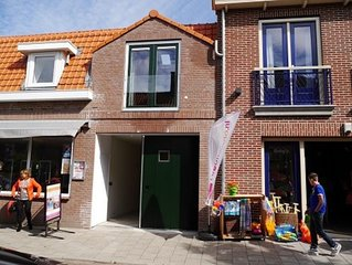 Comfortabel appartement met garage in centrum Domburg op 100 meter van zee.