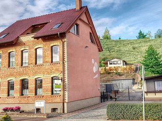 Large apartment in the Harz with private entrance, fireplace, garden and roof te