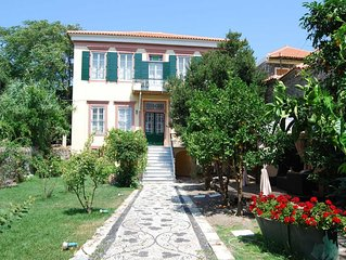 Rent your own 19th century luxury house in Molivos on Lesvos Island