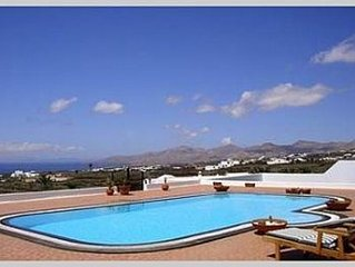 Exceptional Spacious Stylish Villa with Private Heated Pool. Sea views.