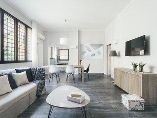 Appartamento trilocale Tristano e Isotta, ideale per 6 persone