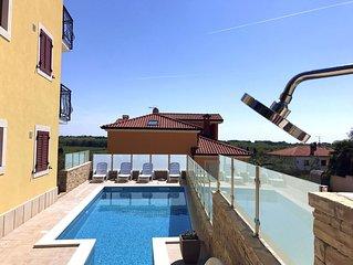Appartamento 5 nella villa a Savudrija con giardino piscina barbecue parcheggio