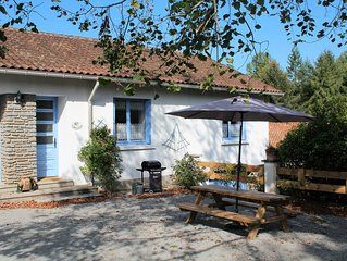 Family Friendly Gite with Heated Pool and Fishing Lake