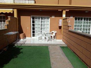 Apartamento Casa Entera Adosada Jardin Playa de San Agustin.