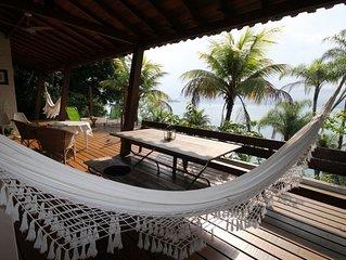 Stylish Brazilian eco house in a unique sea front location