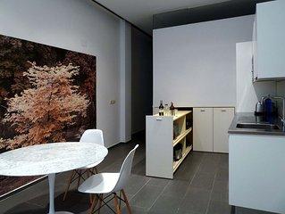 Loft Design  - Dos Habitaciones Piso, Capacidad 4