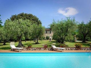 Villa a Segromigno In Monte con 3 camere da letto e 6 posti letto