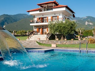 Villa Nefeli - Beautiful villa with sea and Olympus mountain view