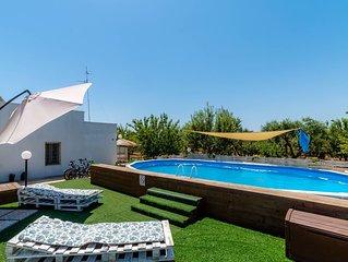 Borgo Tortorella - Casa Limone, apt in villa with shared pool & garden