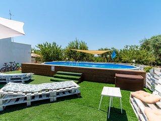 Borgo Tortorella - Casa Gelso, apt in villa with shared pool & garden