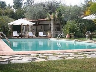 Provencal House, Private Pool, Sea View
